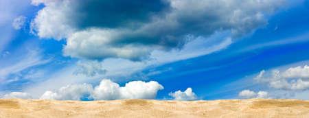 image of a sandy beach against the sky