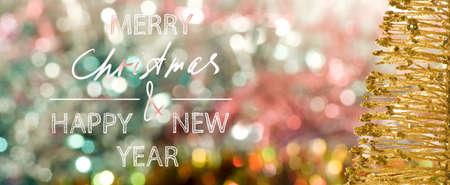 Image of beautiful festive designer christmas decorations