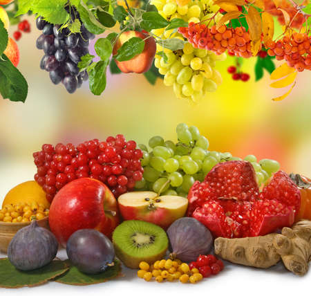 image of a lot of fruit close up Imagens