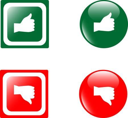 negar: HASTA abajo botones brillante
