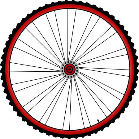 spokes: bicycle wheels