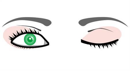 Mooie paar ogen