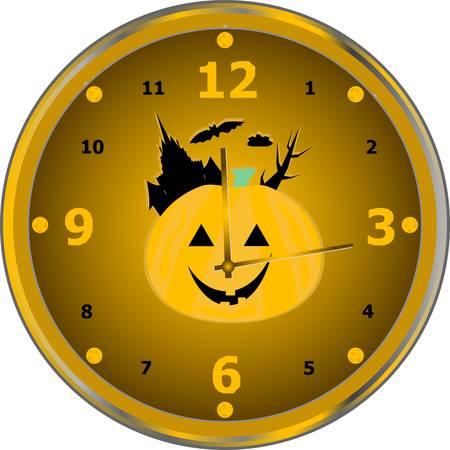 Tiempo para celebrar el reloj aislados de partido