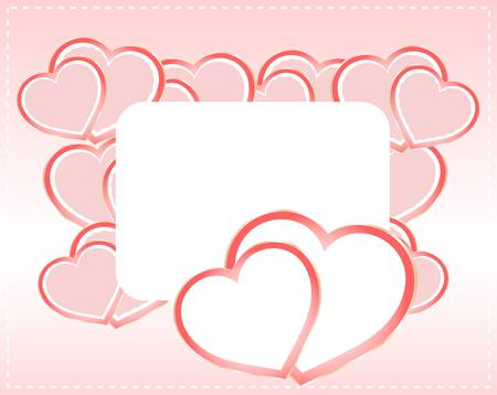 Greeting scrap retro background with empty blank Vector