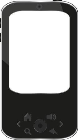 vector smart phone isolated on white Stock Vector - 12865682