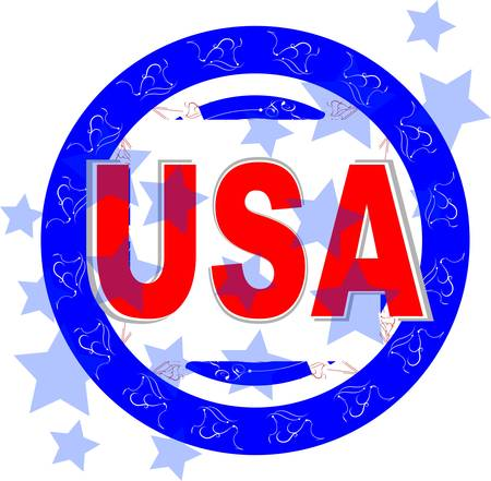 inaugural: usa vector illustration  american independence day