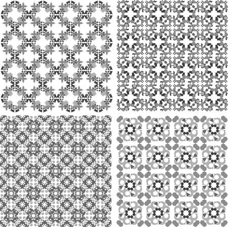Decorative design elements. Patterns set. art set Stock Vector - 13293302