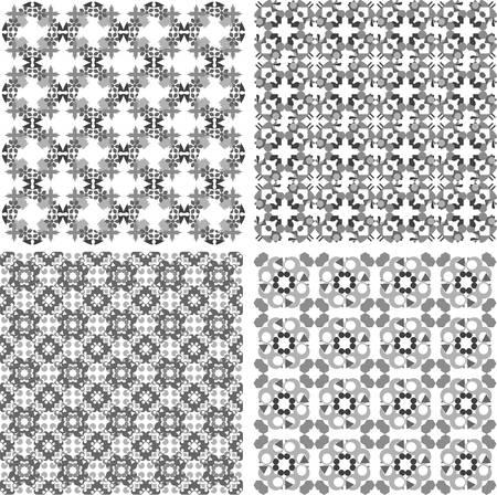Decorative design elements. Patterns set. art set Stock Vector - 13293302