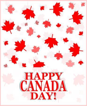 Happy Canada Day - Vector