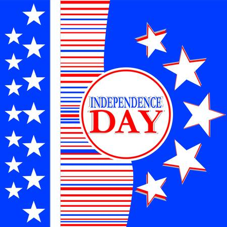 Usa independence day design - vector background Stock Vector - 13933080