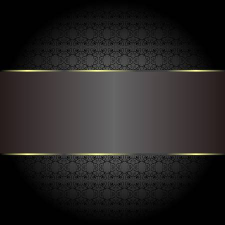 abstract golden ornate backgrounds. seamless pattern Stock Vector - 14211250