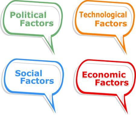concept speech cloud illustration of social individual politics Vector