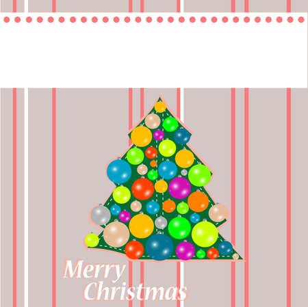 Merry christmas postcard - holiday theme photo