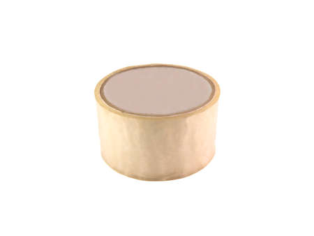 Colored adhesive tape isolated on a white background photo