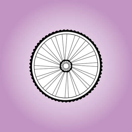 Aerodynamic front road or time trial wheel with tyre photo