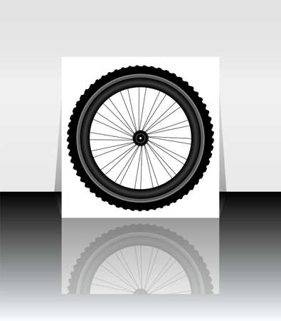 spoke: Bicycle Wheel Symbol Stock Photo