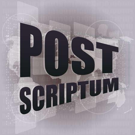 pixeled: Pixeled financial background on digital screen - post scriptum