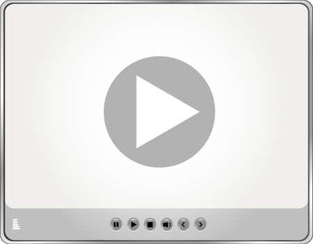 Video Movie Media Player Stock Photo - 17782129