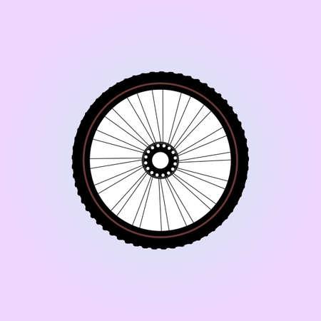 velocipede: Bike wheel Stock Photo