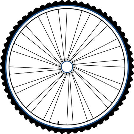 bike wheel black silhouette photo