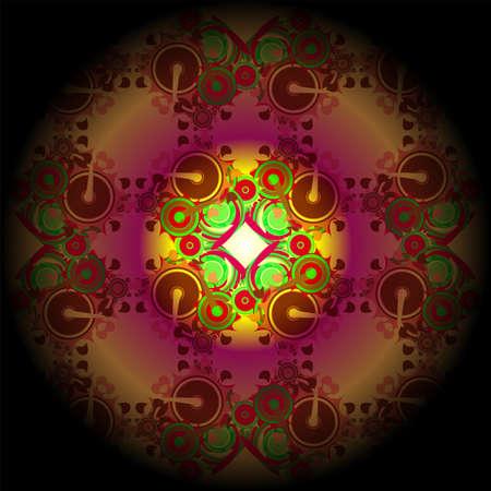 pipe dream: Antecedentes dise�o de formas y colores de ensue�o sobre el tema de los sue�os, la imaginaci�n, la fantas�a y el arte abstracto Foto de archivo