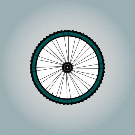 Bicycle Wheel Symbol Stock Photo - 18515947