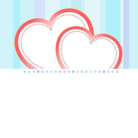 valentine love heart romantic birthday background Stock Photo - 18643910