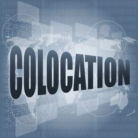 colocation: colocation - media communication on the internet