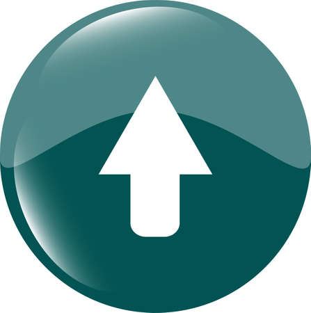 icon arrow - web button photo