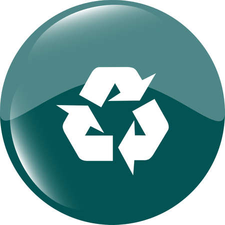 Icon Series - Recycle Sign Stock Photo - 19099812