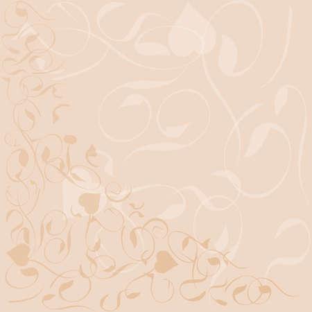 clr: flower background banner pattern frame