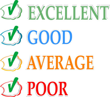 opinion poll: Concept of good credit score for business