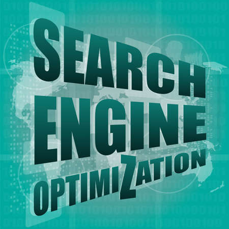 Search Engine Optimization - SEO Sign in Browser Window Stock Photo - 19435519