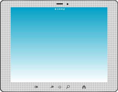 touchscreen: Touchscreen tablet