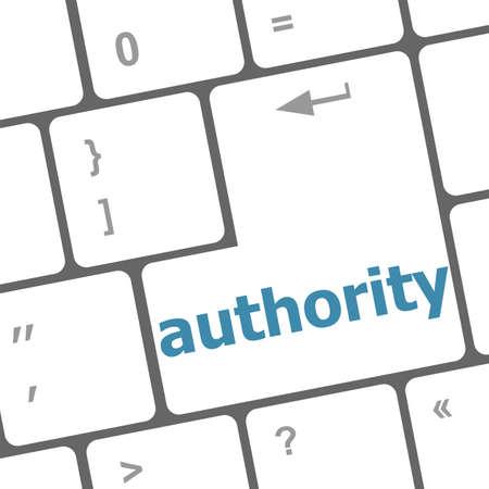 authority: authority enter key and keys icon