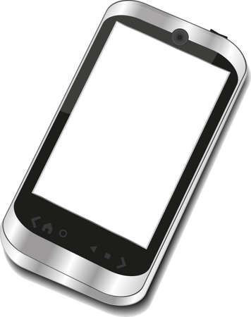 Abstract touchscreen smart phone Stock Photo - 20001990