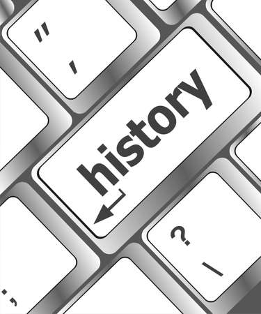 solvency: Laptop keyboard and key history on it