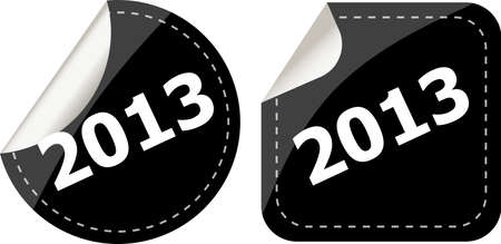 2013 Labels, stickers, pointers, tags for your (web) page photo