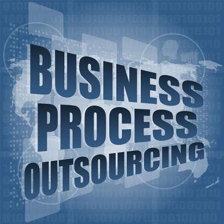 mapa de procesos: hi tecnolog�a de interfaz de externalizaci�n de procesos empresariales