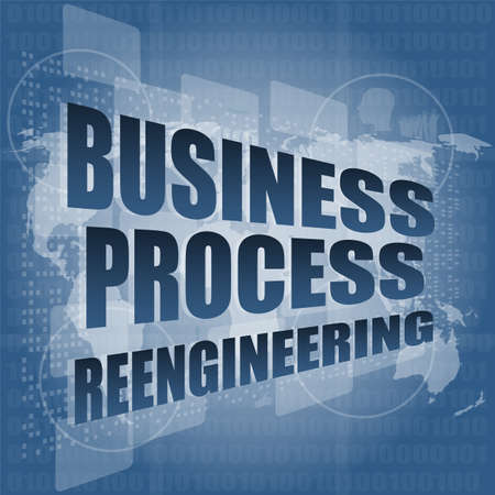 business process reengineering: business process reengineering interface hi technology