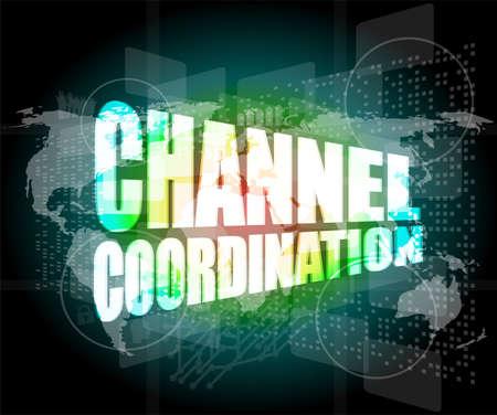 coordinacion: coordinaci�n de canales en la pantalla t�ctil, el concepto de negocio digital