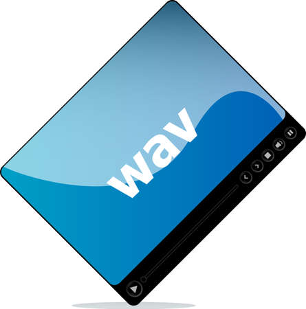 wav: wav on media player interface