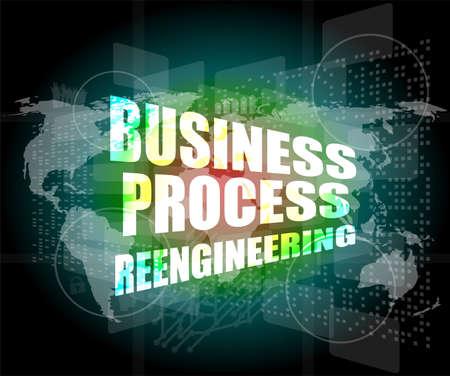 reengineering: business process reengineering interface hi technology
