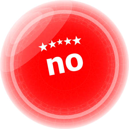 No grunge rubber stamp over white background photo