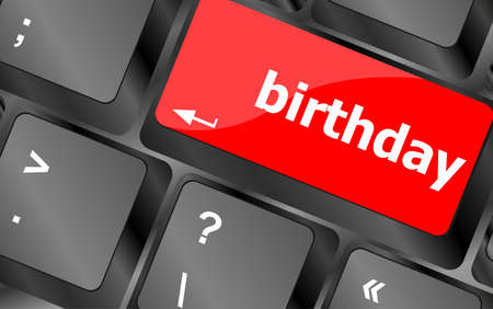 call some party fun with the computer button birthday photo