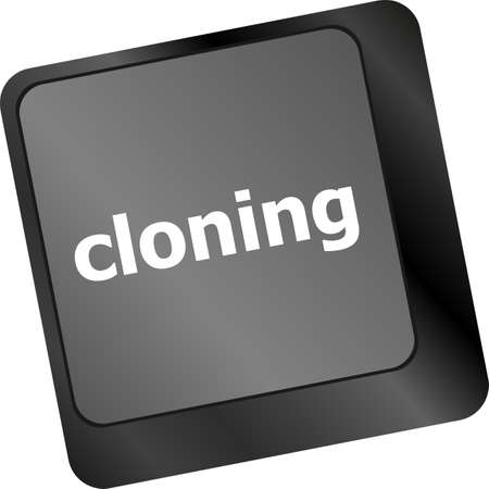 cloning: cloning keyboard button on computer pc