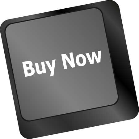 keyboard buy now icon - business concept photo