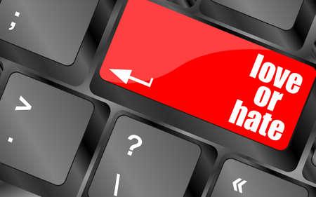 votaciones: amor o tecla del teclado impresiones de comunicaci�n relaciones de odio notas cr�ticas ordenador,