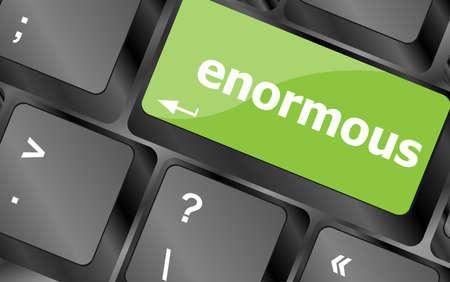 button computer: enorme palabra clave en el teclado el bot�n, el ordenador port�til