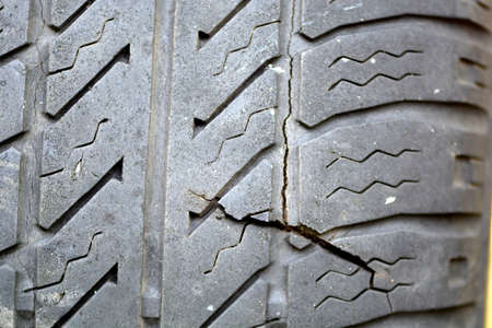 old car tires  photo